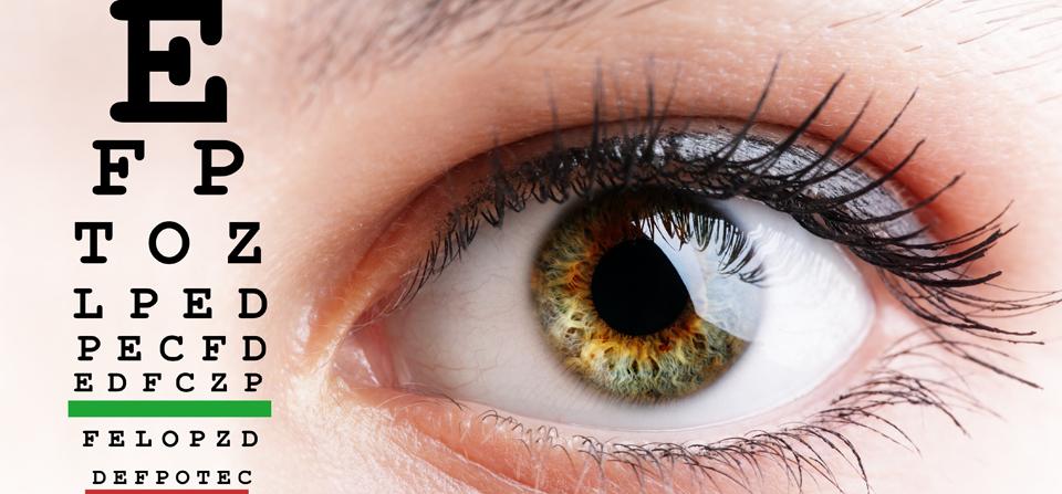 Augenprüfung auf den Punkt